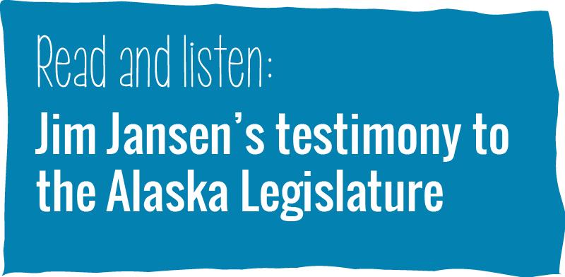 Jim Jansen testimony link